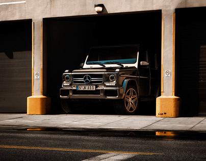Mercedes G-Klasse CGI