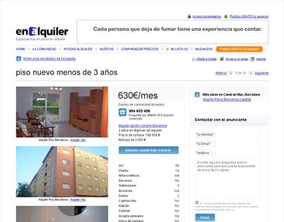 Enalquiler webdesign