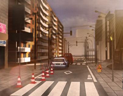 A 3D street study