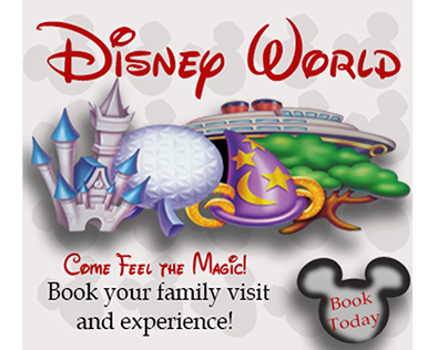 Disney Web Ad Card