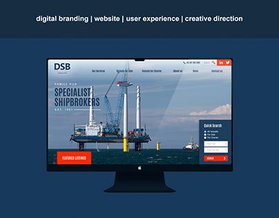 DSB Offshore Website Overhaul