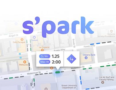 S'PARK: Street Parking App