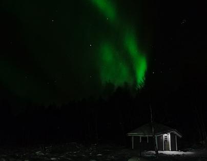 Timelapse - Northen lights