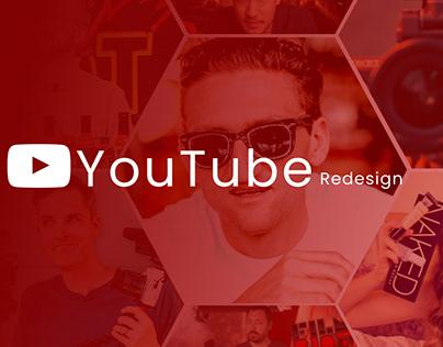 YouTube Redesign (Website)