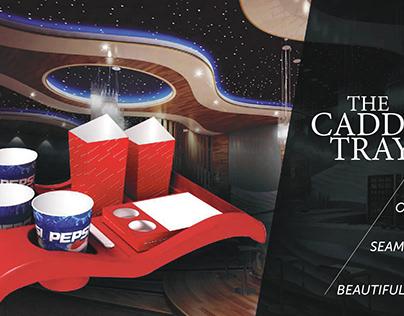In Cinema Caddy Tray