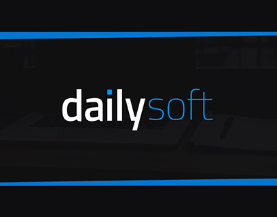 DailySoft - Website project and visual identification