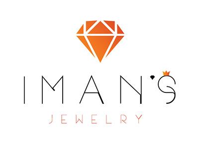Iman's Jewelry - Logo & Web Design