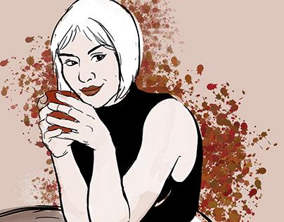 Coffee or tea? - Mug Portrait Series