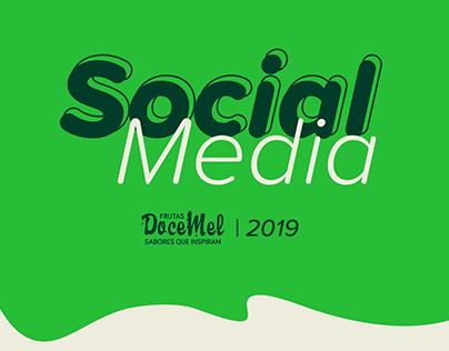Social Media - Frutas Doce Mel 2019