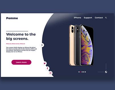 Web Design - Pomme