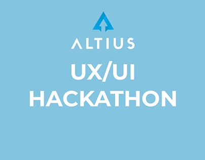 UX/UI Hackathon - Altius (ecommerce)