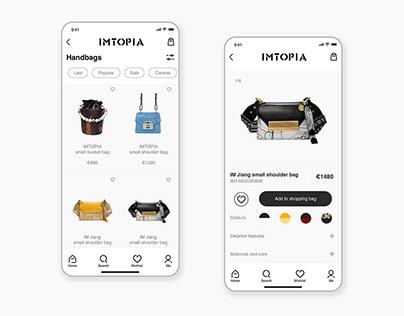 Fashion shopping app