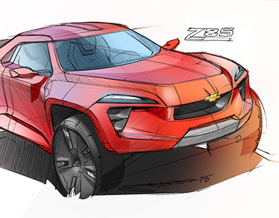 Vehicle Sketches- Summer 2018