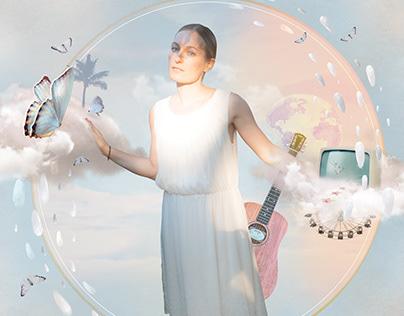 Katja von Bauske cd cover illustration