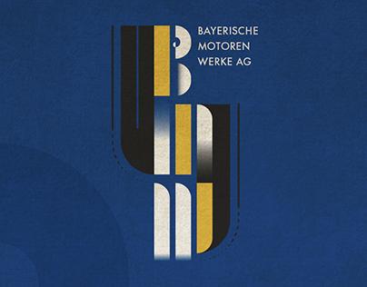 BMW - BAUHAUS Style Logo