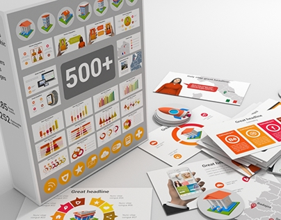 """""""Infographics Set and Elements"""" AE Project"""