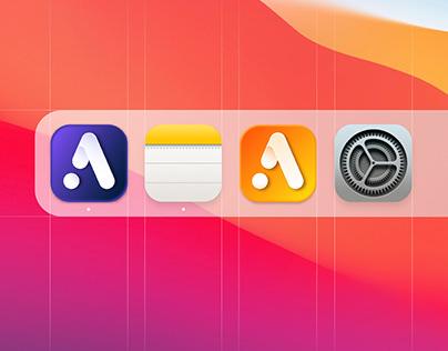 MacOs icon design