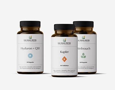KIM Supplement Packaging Design
