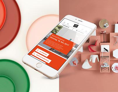 design möbel SALE! | Relaunch of Website