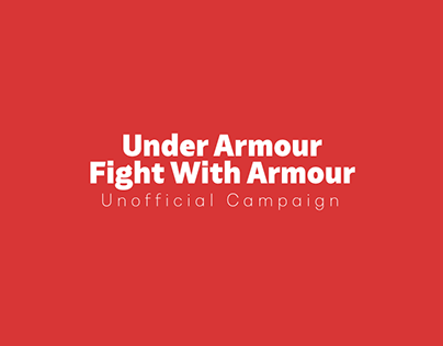 """Under Armour """"Fight With Armour"""" Unofficial"""