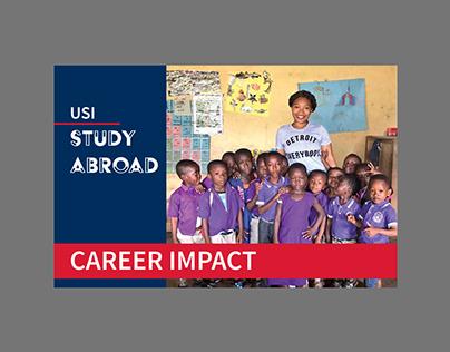 USI Study Abroad Postcard
