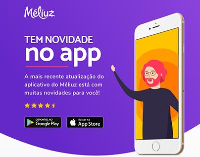 Novidades no App do Méliuz
