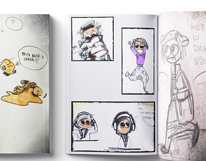 Comics and Sketches