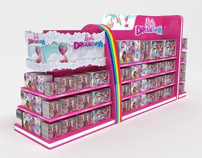 Mattel Barbie Dreamtopia interactive Stand Design