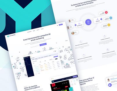 Easymailing - Website & Branding