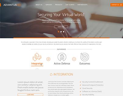 Advantus360 Website Design