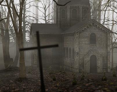 Church in walking Dead