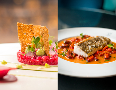 Food Photography for The g Hotel Galway - showcasing ne