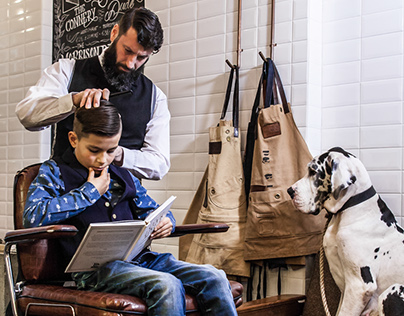 The Kid, The Dog & a Barber