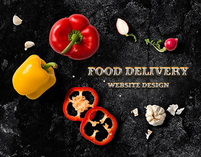 FOOD DELIVERY WEBSITE DESIGN
