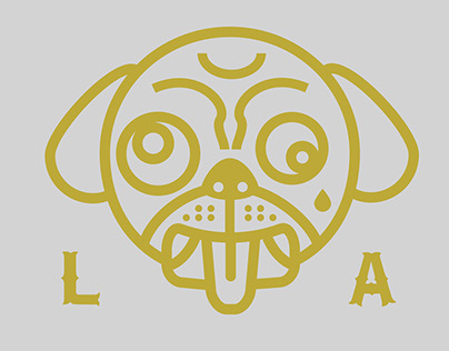 Diggity Dog LA, Branding, Art Direction