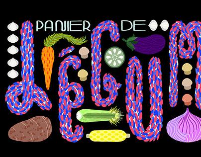 Panier de légumes - Générique