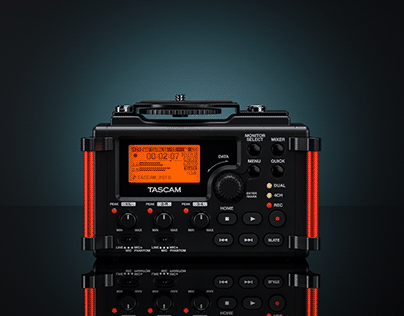 ▼▲ Once In A While Renders № 52 Tascam DR-60D MK II