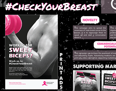 Breast Cancer Awareness Campaign (Entry for MIIEX)