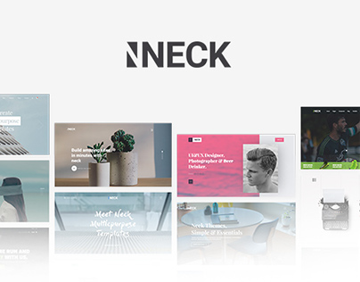 Neck - Creative Multipurpose Responsive HTML5 Templates