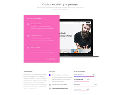 Template (Create website)