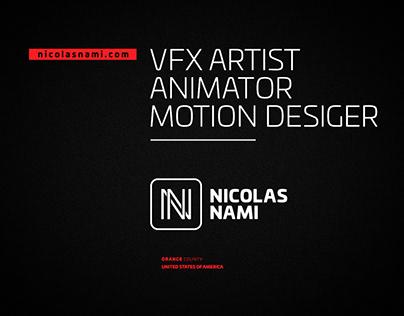 Nicolas Nami Motion Design Reel