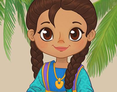 Kuwaiti Kids - Characters