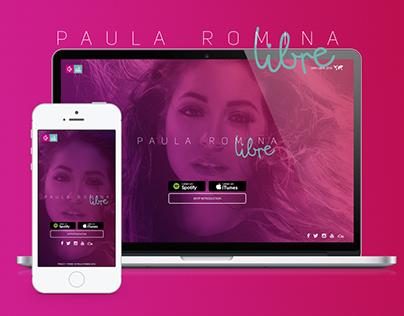 Web Design - Paula Romina