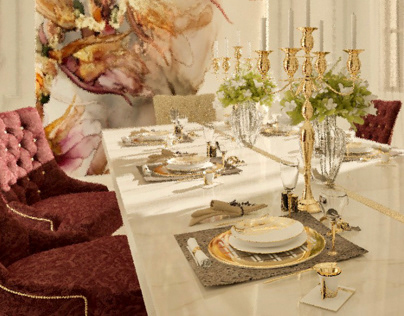 Simple Classic Dinning Room