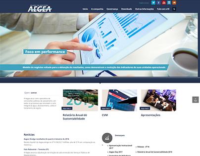 Relações com Investidores - Aegea