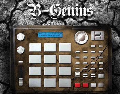B Genius - Point of Arrival CD Sleeve and Flyer