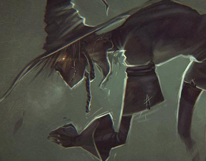 Scarecrow Speedpaint Concept