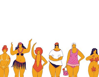 bathing suit ABC