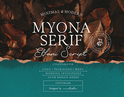 Myona Serif & Elfani Script