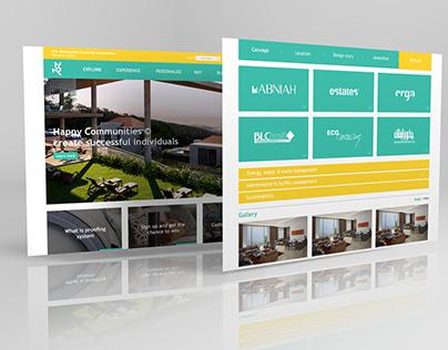 TDHC - Website design